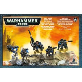 WARHAMMER SPACE MARINE SCOUT SQUAD SNIPER RIFLES