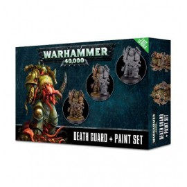 WARHAMMER DEATH GUARD + PAINT SET
