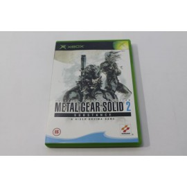 XBOX METAL GEAR SOLID 2