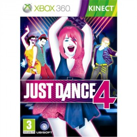 XBOX360 JUST DANCE 4