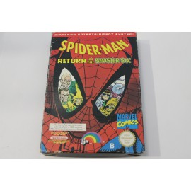 NES SPIDER-MAN RETURN OF THE SINISTER SIX