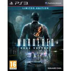 PS3 MURDERED SOULS SUSPECT LIMITED EDITION