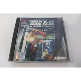 PS1 IRON-MAN /X-O MANWAR IN HEAVY METAL
