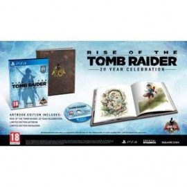 PS4 RISE OF THE TOMB RAIDER 20 YEARS CELEBRATION