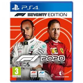 PS4 F1 2020 SEVENTY EDITION