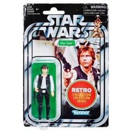 FIGURA STAR WARS RETRO HAN SOLO