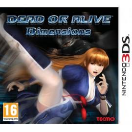3DS DEAD OR ALIVE DIMENSIONS USADO