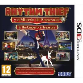 3DS RHYTHM THIEF & THE EMPEROR´S TREASURE