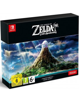 SWITCH THE LEGEND OF ZELDA LINK`S AWAKENING LIMITED EDITION