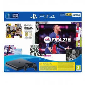 PS4 CONSOLA SLIM 500GB + FIFA 21