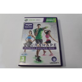 XBOX 360 KINECT YOUR SHAPE FITNESS 2012