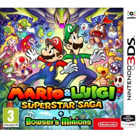 3DS MARIO & LUIGI SUPERSTAR SAGA + BOWSER´S MINIONS
