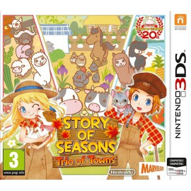 3DS STORY OF SEASONS TRIO OF TOWNS