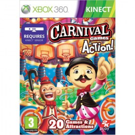 XBOX 360 KINECT CARNIVAL GAMES