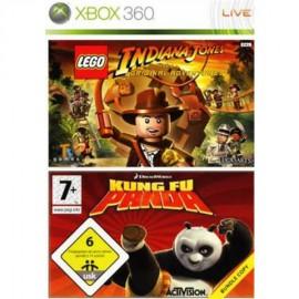 XBOX 360 LEGO INDIANA JONES + KUNG FU PANDA