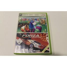XBOX 360 VIVA PINATA + FORZA MOTORSPORT 2