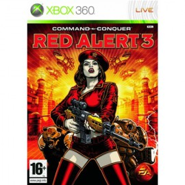 XBOX 360 COMMAND & CONQUER RED ALERT 3