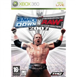 XBOX 360 SMACKDOWN VS RAW 2007