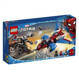 LEGO MARVEL SUPER HEROES SPIDERJET VS. VENOM MECH