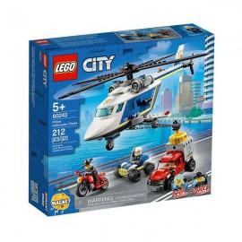 LEGO CITY: PERSEGUIÇÃO POLICIAL DE HELICÓPTERO
