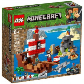 LEGO MINECRAFT: AVENTURA DO BARCO PIRATA