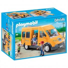 PLAYMOBIL CITY LIVE: TRANSPORTE ESCOLAR