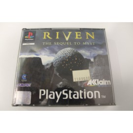 PS1 RIVEN THE SEQUEL TO MYST