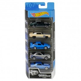 HOT WHEELS PACK 5 CARROS FAST&FURIOUS 2020