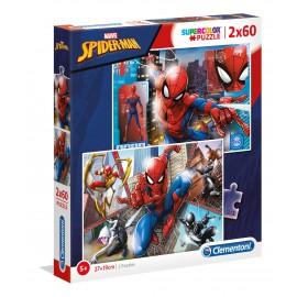 PUZZLE MARVEL SPIDER-MAN 2X60