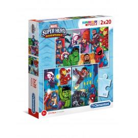 PUZZLE MARVEL SUPER HERO ADVENTURES