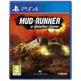 PS4 MUD RUNNER A SPINTIRES GAME