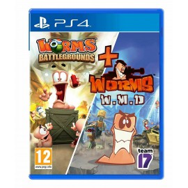 PS4 WORMS BATTLEGROUNDS + WORMS W.M.D