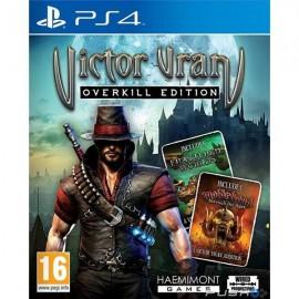 PS4 VICTOR VRAN : OVERKILL EDITION